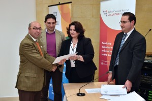 Minister for Social Dialogue, Consumer Affairs and Civil Liberties Helena Dalli presides over the Small Initiatives Support Scheme Grant Award ceremony organised by the Malta Council for the Voluntary Sector Europa House, St Paul Street, Valletta